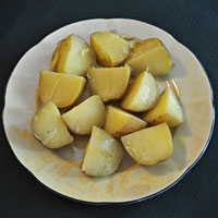 Yukon Gold potatoes keep their shape when boiled
