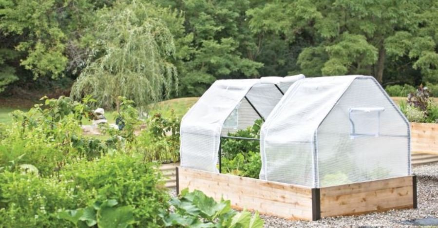 3-season raised bed garden cover
