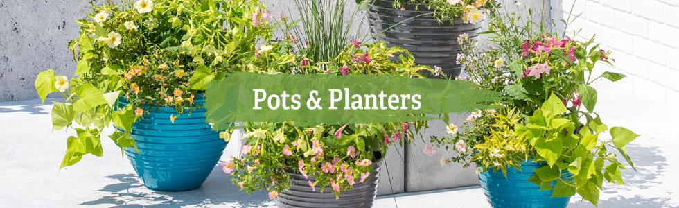 Pots Planters, Outdoor Garden Pots And Planters