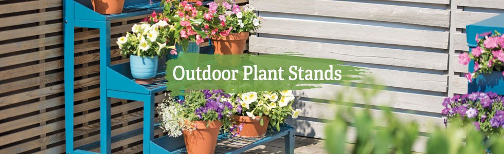 Outdoor Plant Stands & Trays